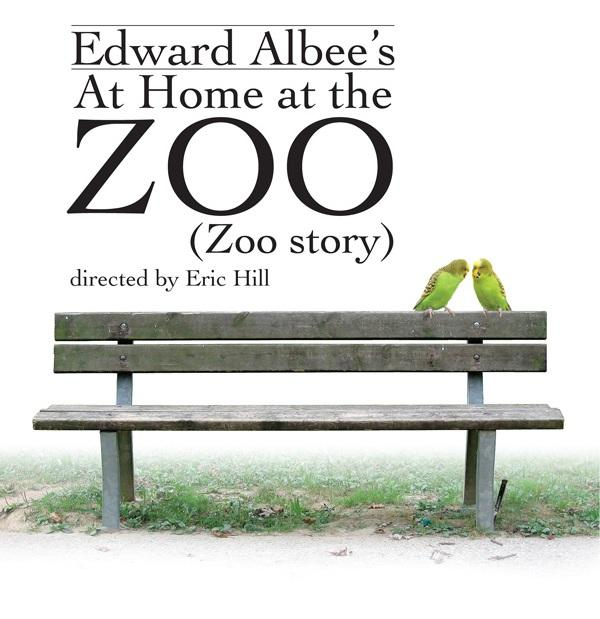 Artwprk for Edward Albee's At Home at the Zoo (Zoo story) at BTG
