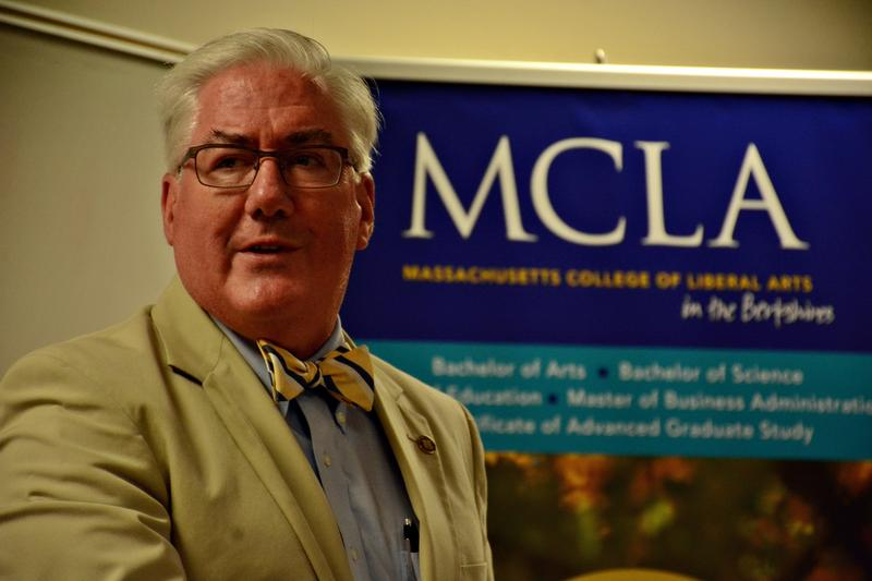 This is a photo of MCLA President James Birge.