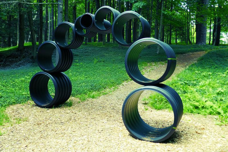 Roe Osborn, Caterpillar Bridge II; SculptureNow at The Mount