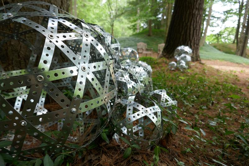Jacque Metheny - Tree with Spheres; SculptureNow at The Mount