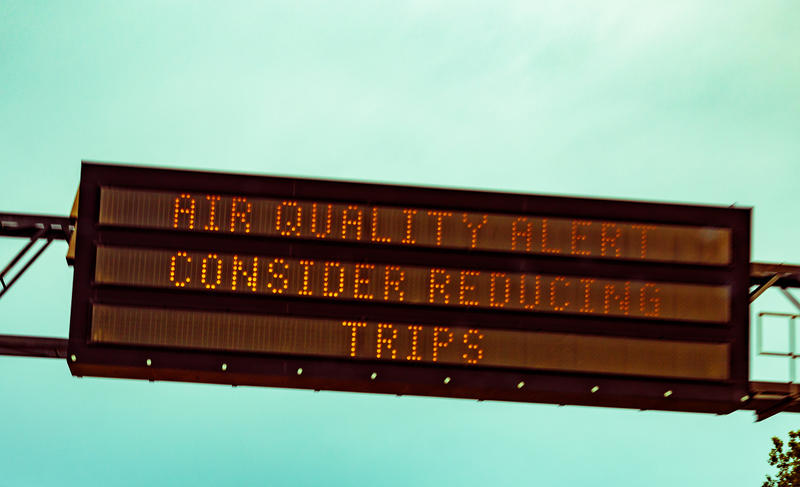 Air quality sign