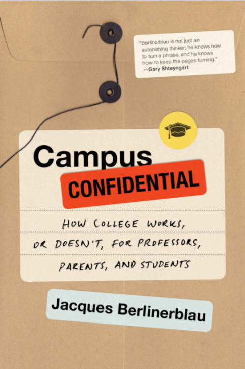 Book Cover - Campus Confidential