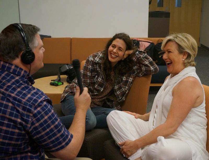 Joe Donahue interviews Jessica Hecht and Jayne Atkinson at the Williamstown Theatre Festival