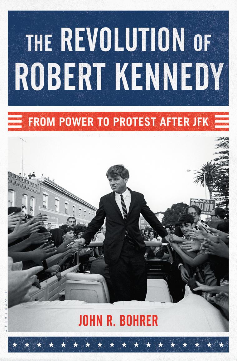 Book Cover - The Revolution of Robert Kennedy