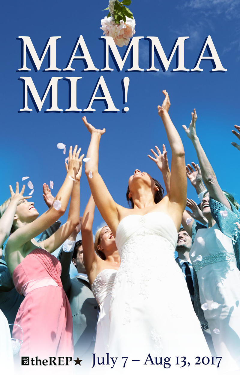 TheRep poster for Mamma Mia!