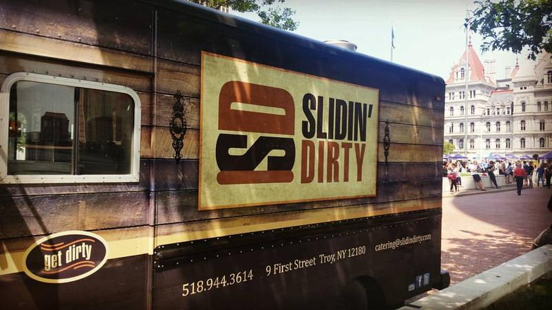 Slidin' Dirty food truck
