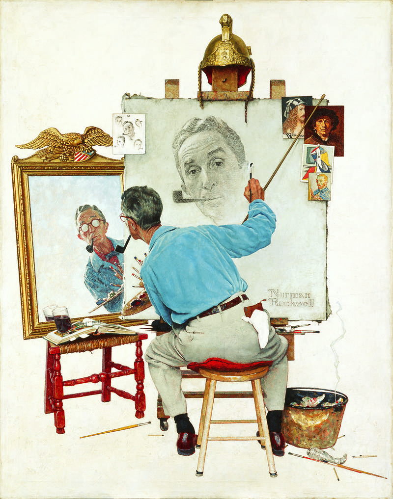 Triple Self Portrait