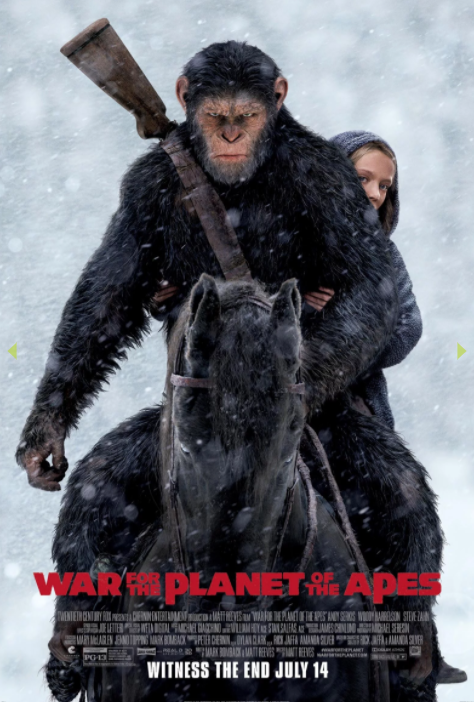 Movie Poster - War for the Planet of the Apes