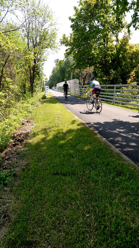 The Albany County Helderberg-Hudson Rail Trail is a project converting a nine-mile stretch of the old Delaware & Hudson (D&H) Railroad between the Port of Albany and Voorheesville to a public recreational trail.