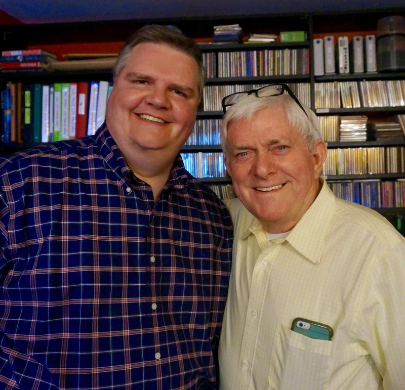 Joe Donahue and Phil Donahue