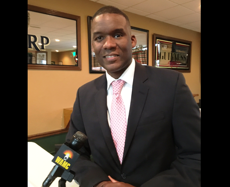 Candidate for Common Council President Corey Ellis