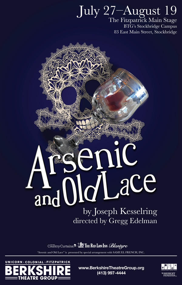 BTG's Arsenic and Old Lace artwork
