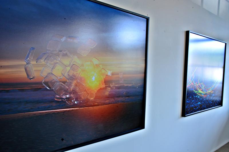 Photography by Thomas Jackson hangs on the walls at CYNTHIA-REEVES.