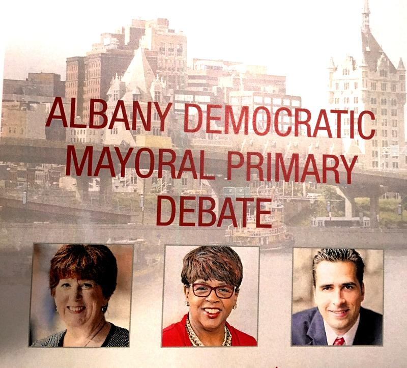 August 29 Albany mayoral debate at the Hearst Media Center