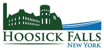 The new logo adopted by the Hoosick Falls village board in June, 2017.