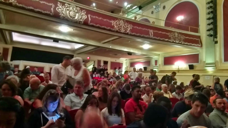 Movie hopefuls fill the Strand Theatre in Plattsburgh