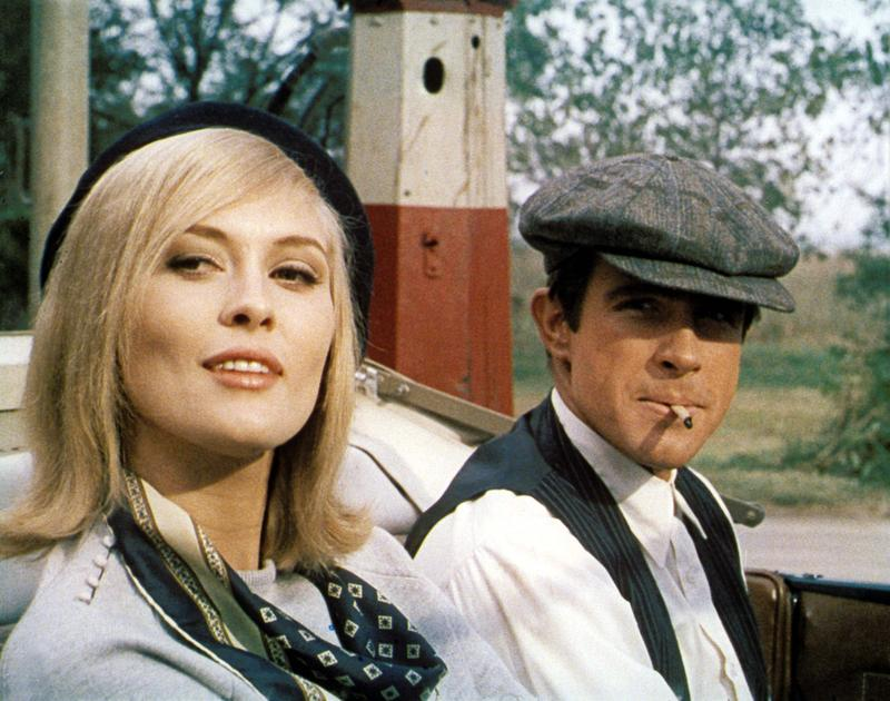 Faye Dunaway and Warren Beatty in 1967's Faye Dunaway and Warren Beatty in 1967's Bonnie and Clyde.