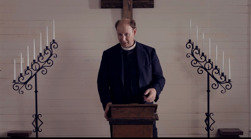 Dan Bakkedahl As Reverend Ray Rogers in Brave New Jersey