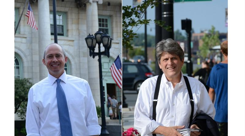 Democrats Jay Gonzalez and Bob Massie both made a trip to the Berkshires Tuesday.