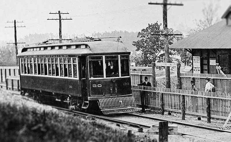 The Albany-Hudson Electric Trolley operated along the proposed trail corridor. The line transported millions of passengers over its three decades of service.