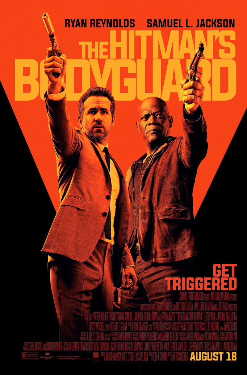 Movie Poster - The Hitman's Bodyguard