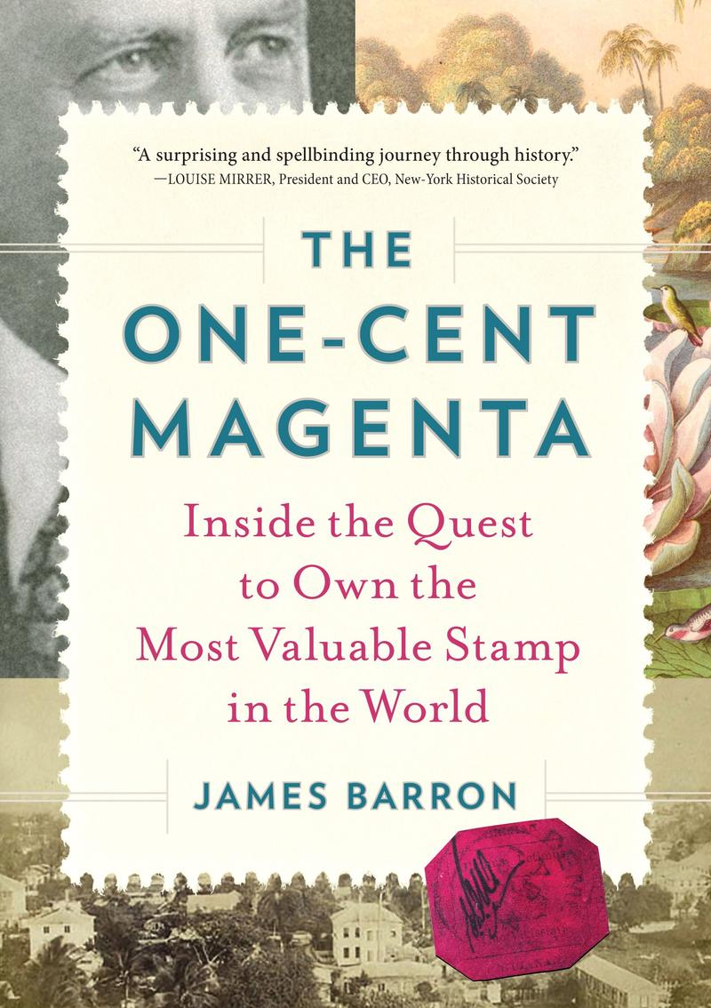 Book Cover - The One-Cent Magenta