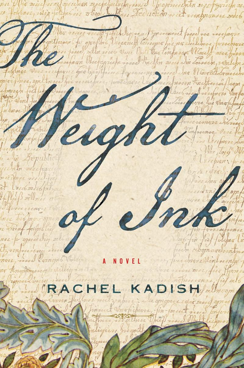 Book Cover - The Weight of Ink