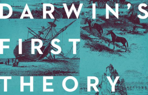 Book Cover artwork - Darwin's First Theory