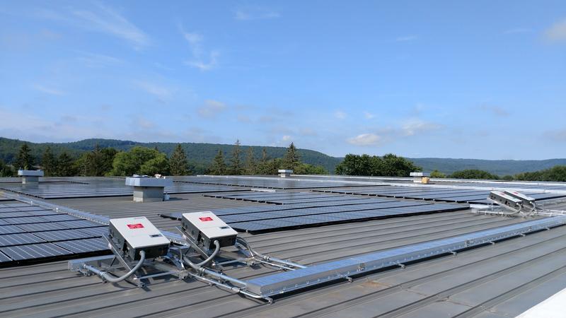 Glenville Manufacturer Switches On 1 Million Watt Solar