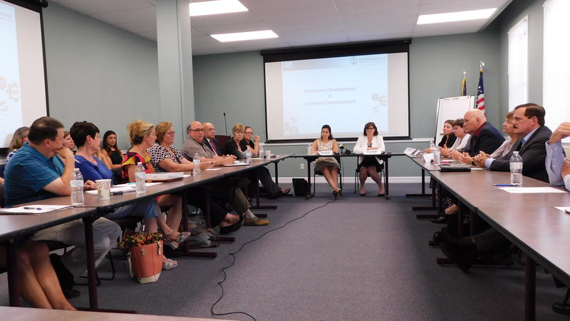 Congresswoman Elise Stefanik meets with Workforce Development Board