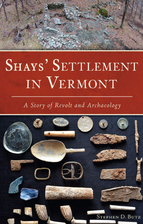 Book Cover - Shay's Settlement In Vermont