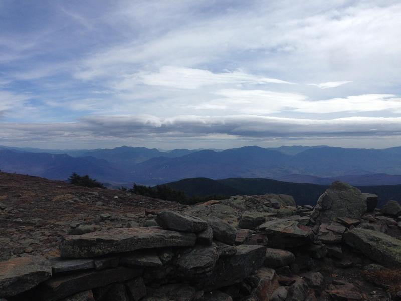 The summit of Mt. Moosilauke in New Hampshire
