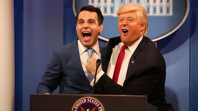 Mario Cantone and Anthony Atamanuik on Comedy Central's The President Show