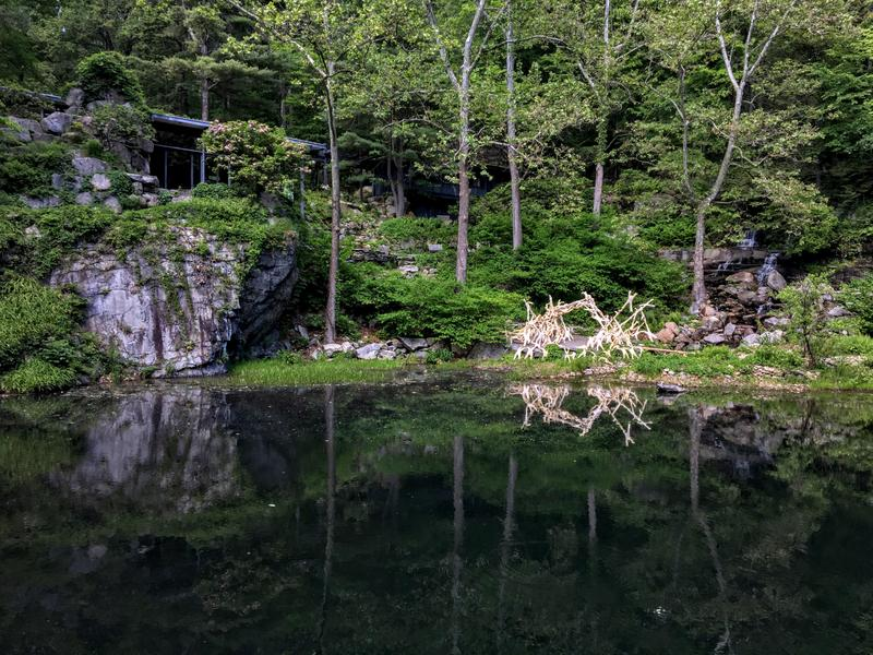 The Quarry Pond at Manitoga