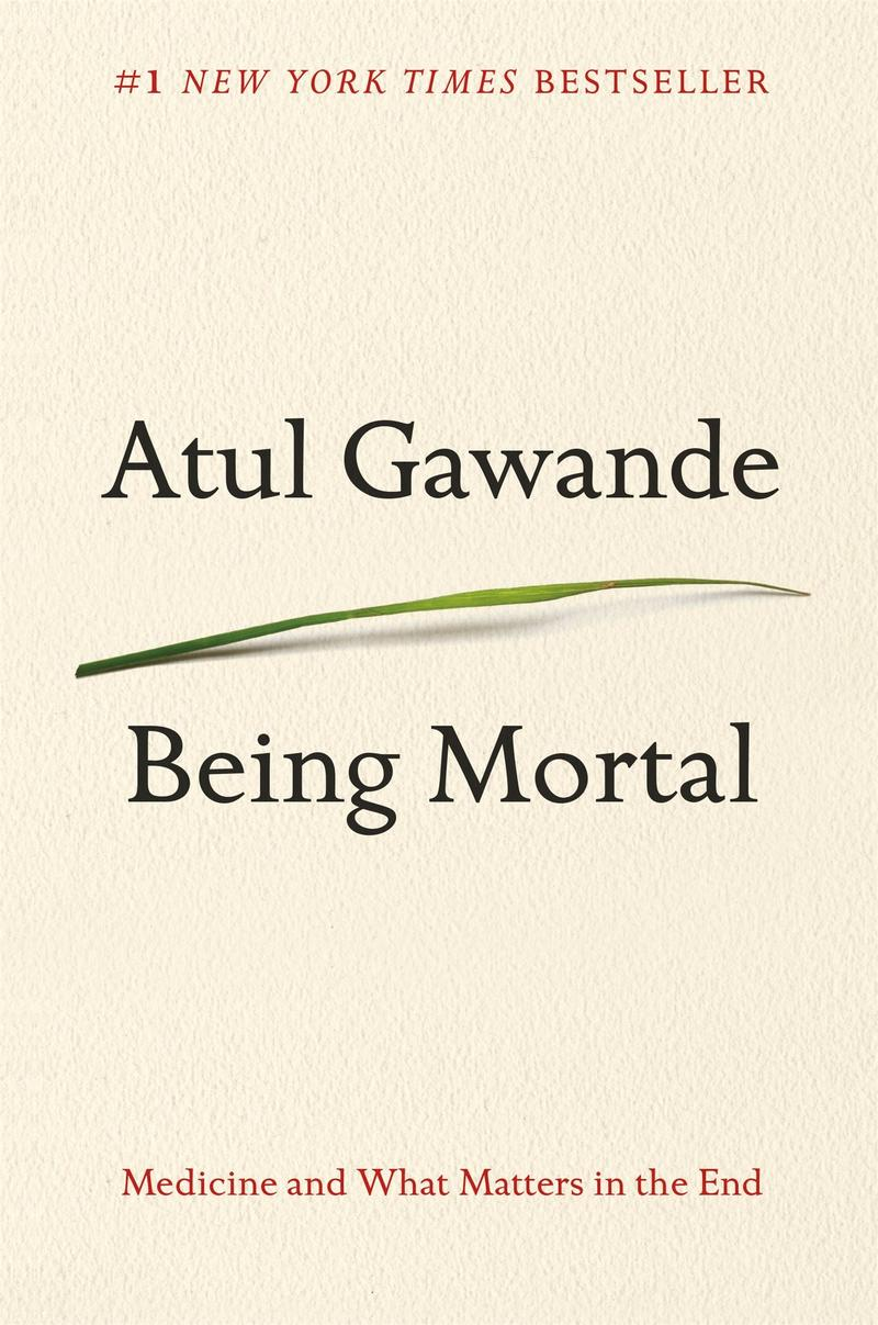 Book Cover - Being Mortal