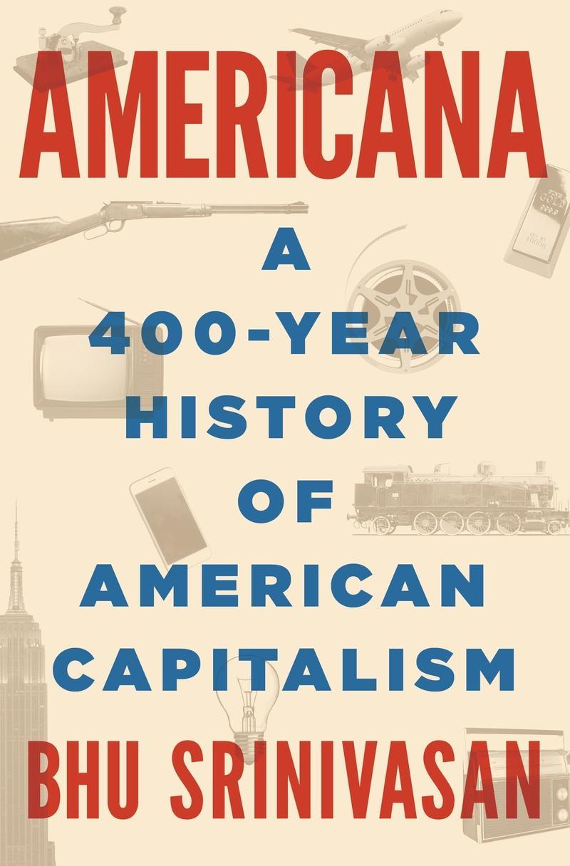 Book Cover - Americana