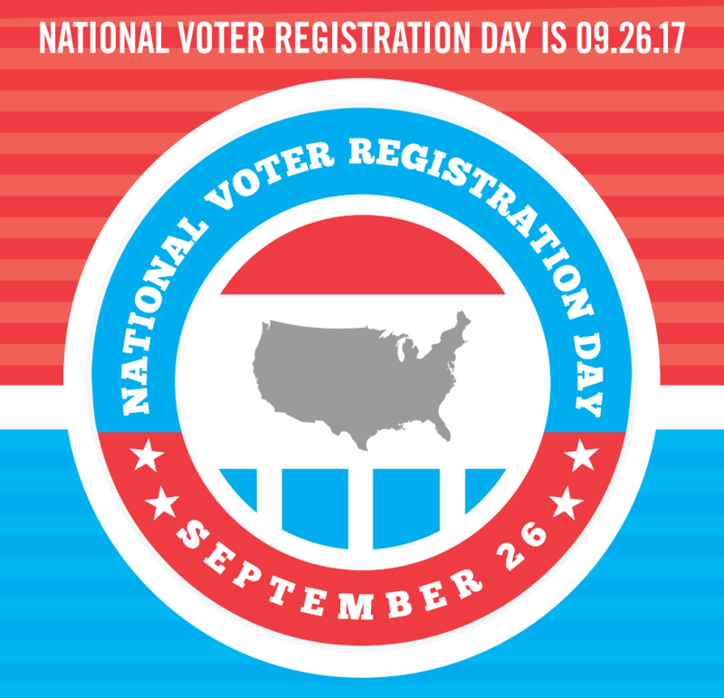 National Voter Registration Day artwork