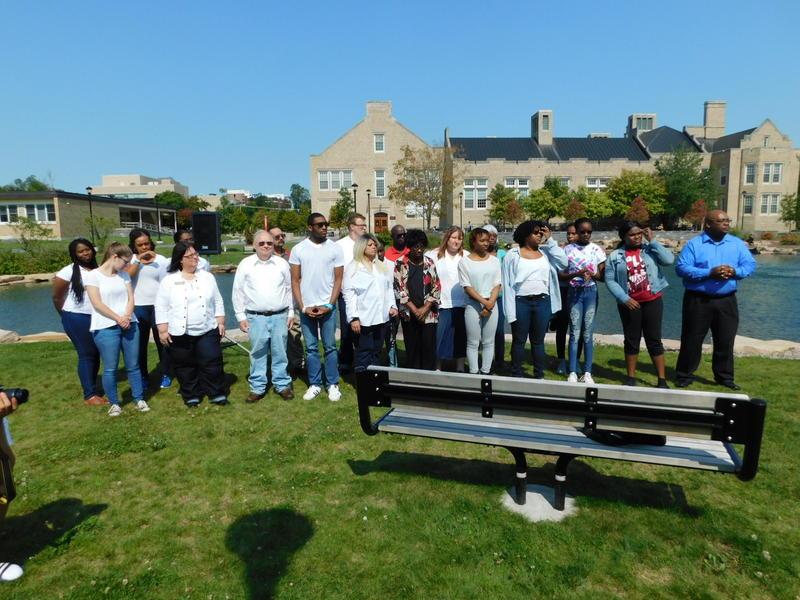 SUNY Plattsburgh Gospel Choir at 9-11 memorial