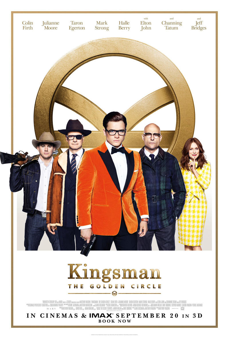 Movie Poster - Kingsman: A Golden Circle