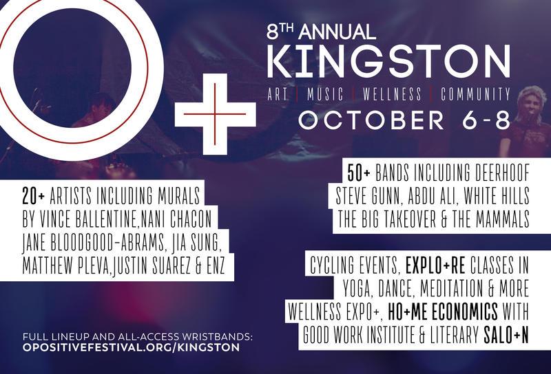 Advertisement for O+ Festival