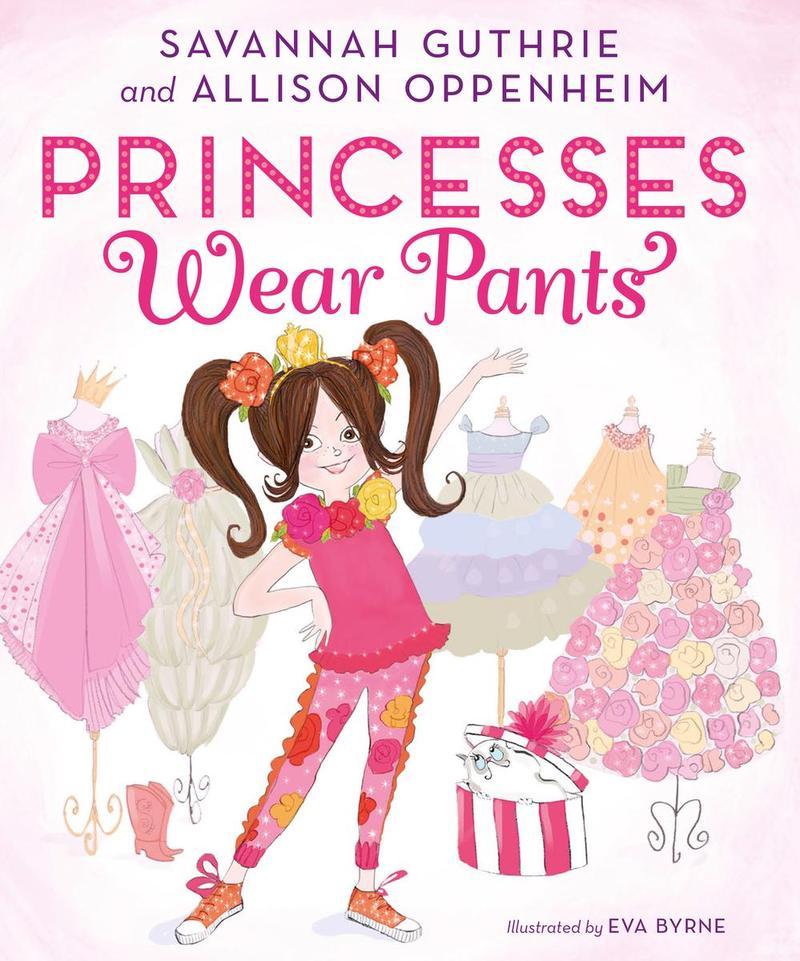 Book Cover - Princesses Wear Pants