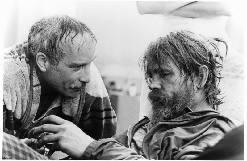 Actor Richard Dreyfuss and Nick Nolte.