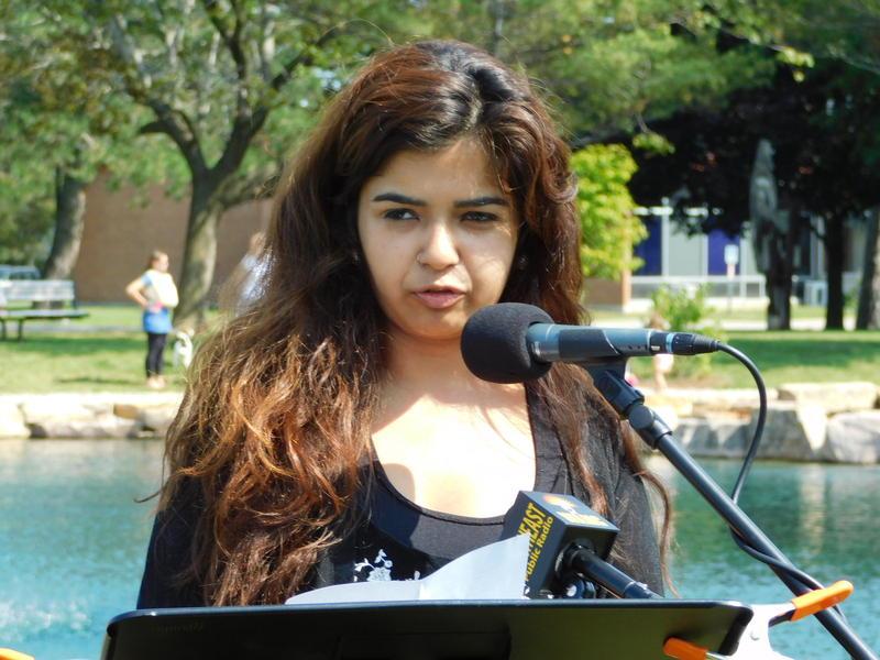Vrinda Kumar speaks at 9-11 memorial