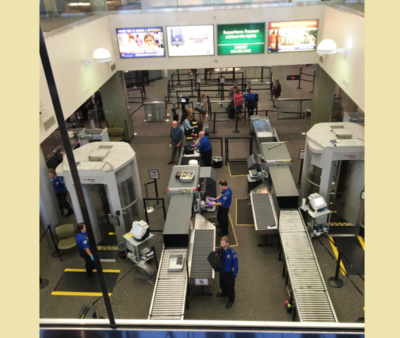 A look at the TSA's security screening operation at Albany International Airport.