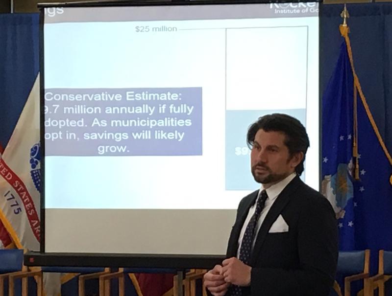 Jim Malatras, President of the Rockefeller Institute of Government.