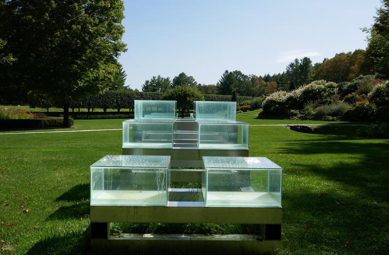David Teeple; Twelve Cuboid Stack, I; SculptureNow Nexus at The Mount