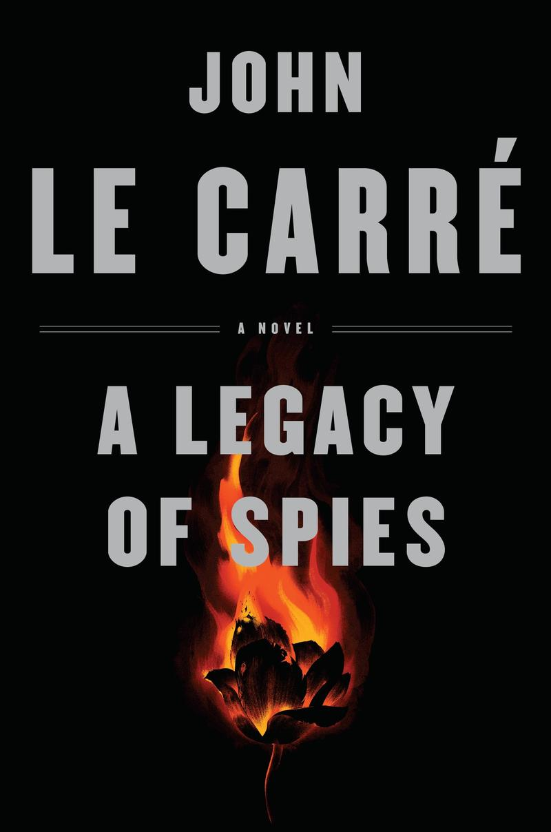 Book Cover - A Legacy of Spies