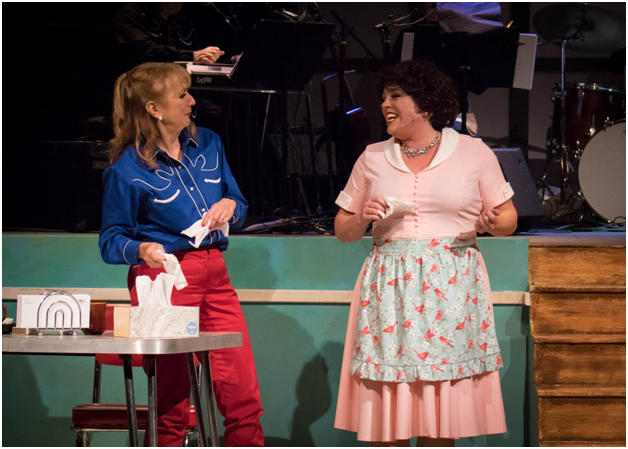 A scene from Park Playhouse's production of