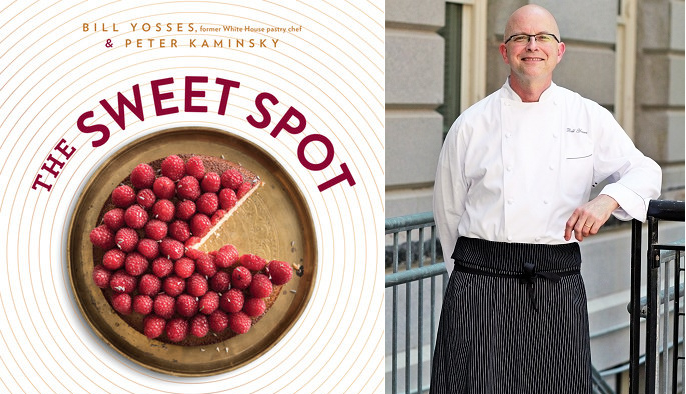 Book Cover The Sweet Spot and Pastry Chef Bill Yosses