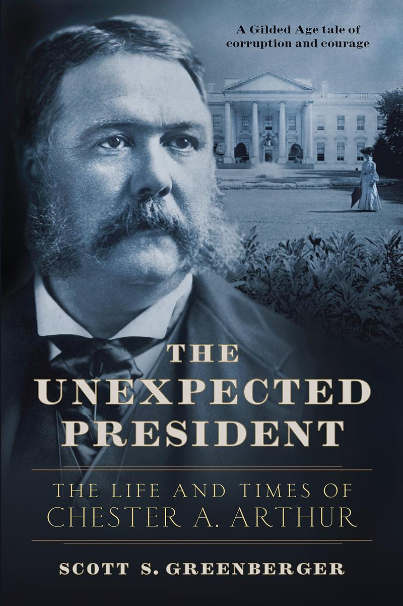 Book Cover - The Unexpected President